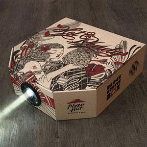 pizza hut - proiettore