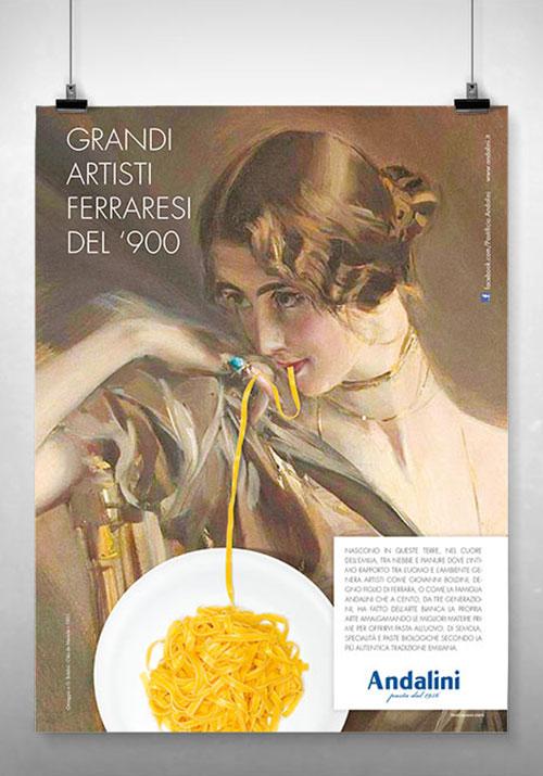 Pastificio Andalini - campagna ADV