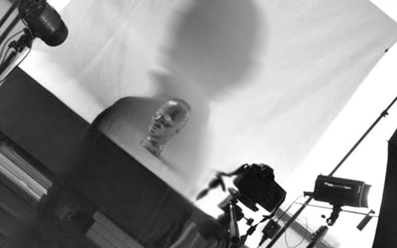 Studio fotografico, sala pose