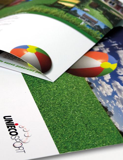 Unieco sport - Linea di folder